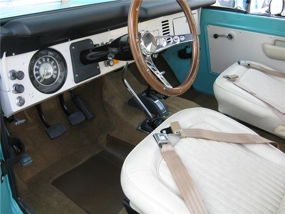 1969 Ford Bronco Interior 1969 Ford Bronco 4x4