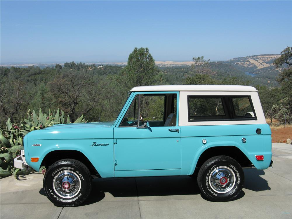 1969 FORD BRONCO 4X4 - Side Profile - 177330