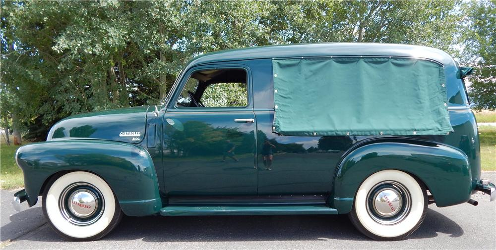 1950 CHEVROLET 3100 CANOPY EXPRESS - Side Profile - 177335