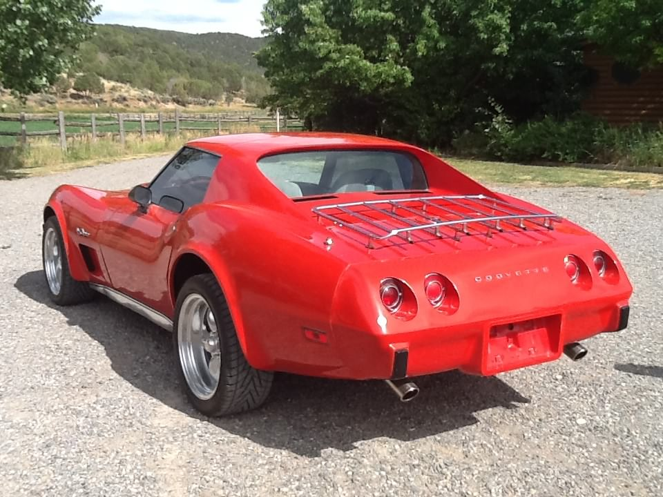 1975 CHEVROLET CORVETTE 2 DOOR COUPE - Rear 3/4 - 177336