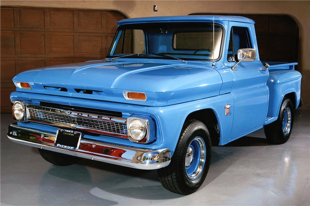 1964 CHEVROLET C-10 PICKUP - Side Profile - 177337