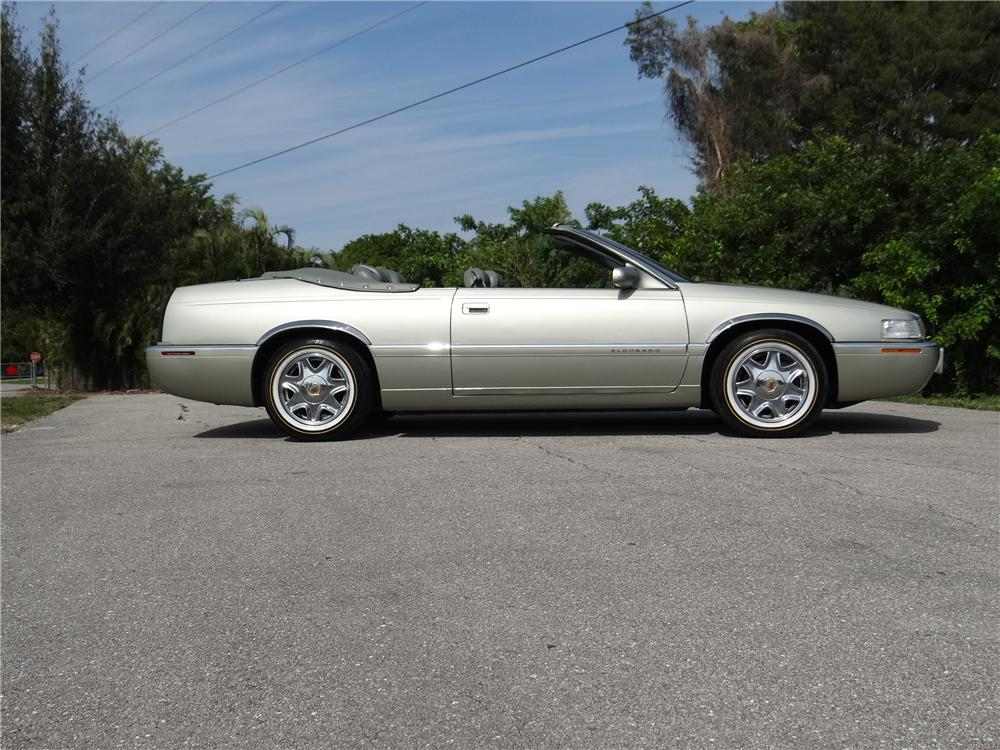 1997 CADILLAC ELDORADO CONVERTIBLE - Side Profile - 177359
