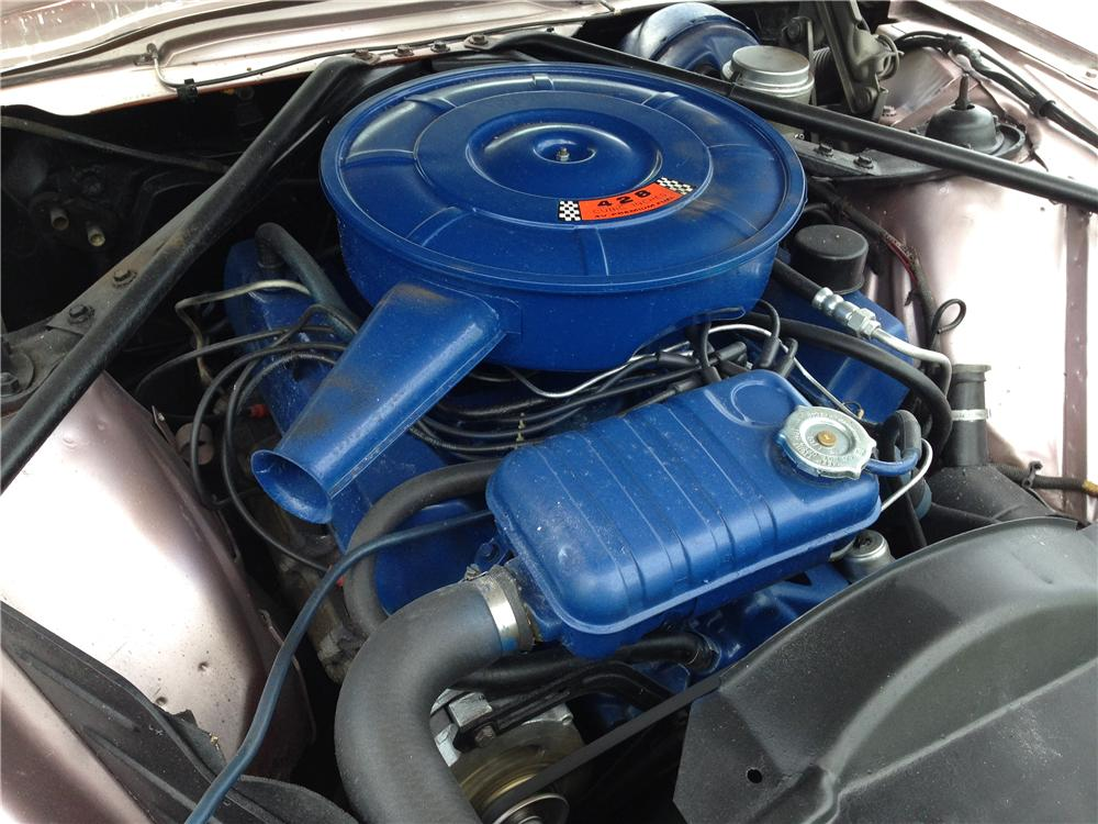 1966 FORD THUNDERBIRD CONVERTIBLE - Engine - 177360