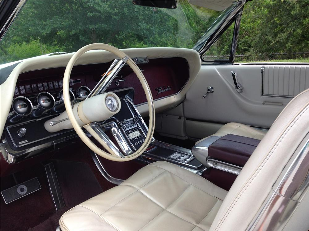 1966 FORD THUNDERBIRD CONVERTIBLE - Interior - 177360