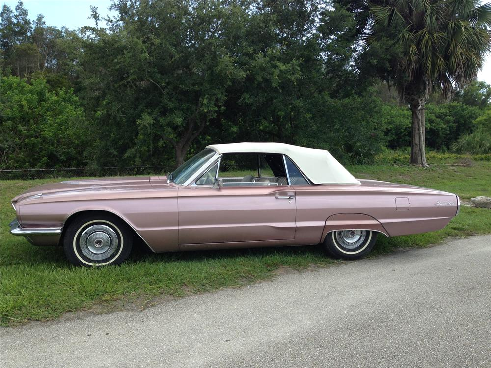 1966 FORD THUNDERBIRD CONVERTIBLE - Side Profile - 177360