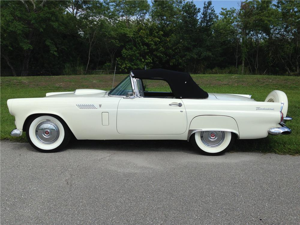 1956 FORD THUNDERBIRD CONVERTIBLE - Front 3/4 - 177361