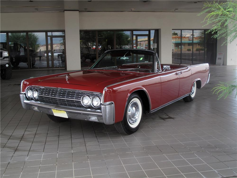 1962 lincoln continental convertible 177363. Black Bedroom Furniture Sets. Home Design Ideas