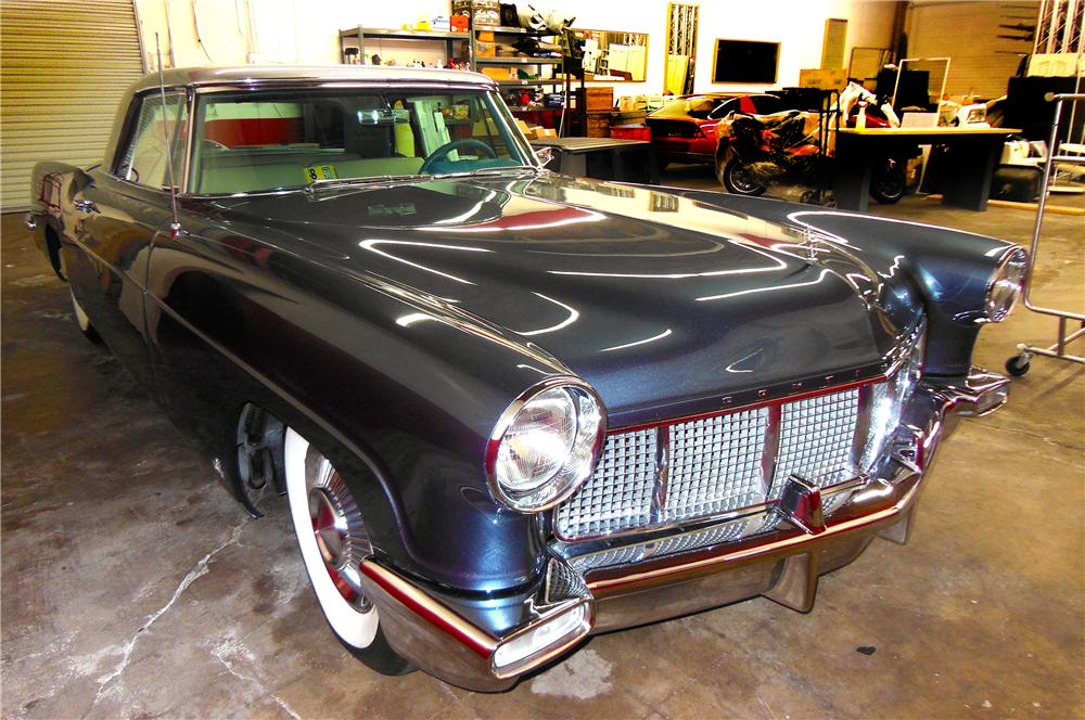 1956 LINCOLN CONTINENTAL MARK II 2 DOOR COUPE - Front 3/4 - 177370