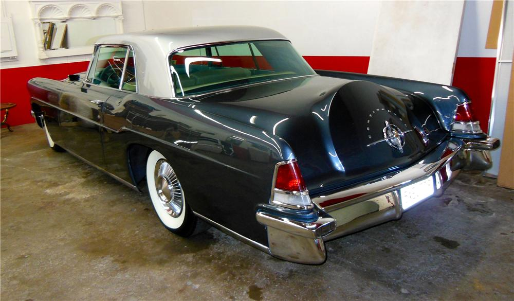 1956 LINCOLN CONTINENTAL MARK II 2 DOOR COUPE - Rear 3/4 - 177370