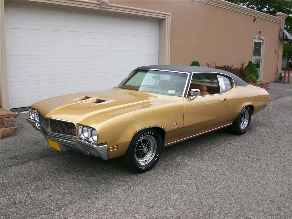 1970 BUICK GS 455 STAGE 1 2 DOOR COUPE - Front 3/4 - 177377