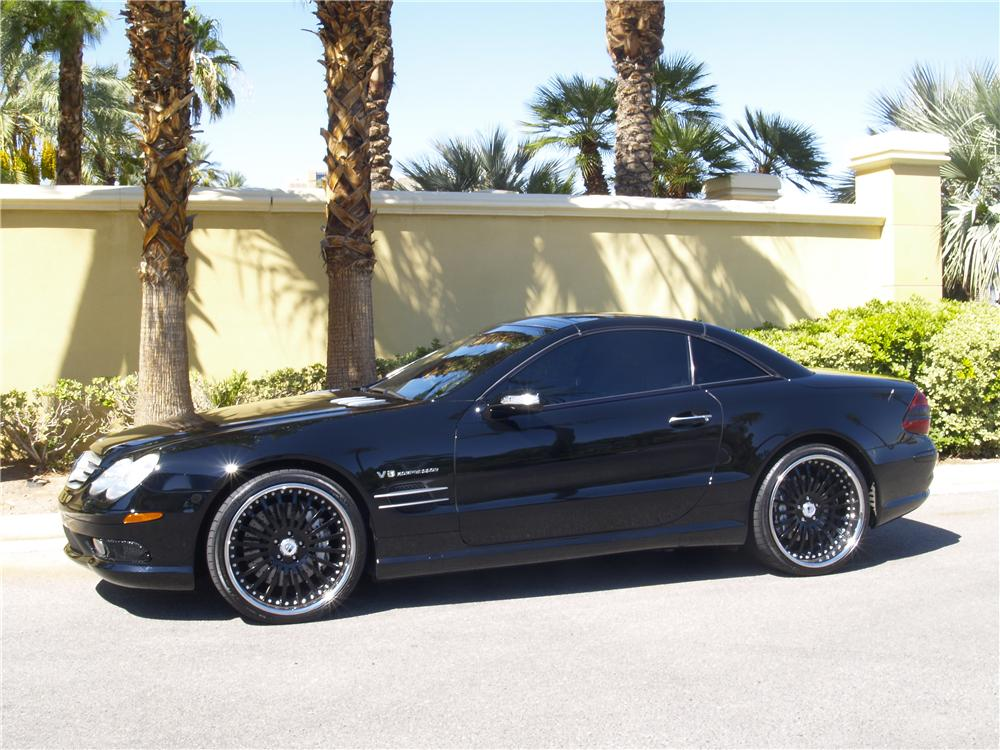 2005 MERCEDES-BENZ SL55 AMG CONVERTIBLE - Side Profile - 177389