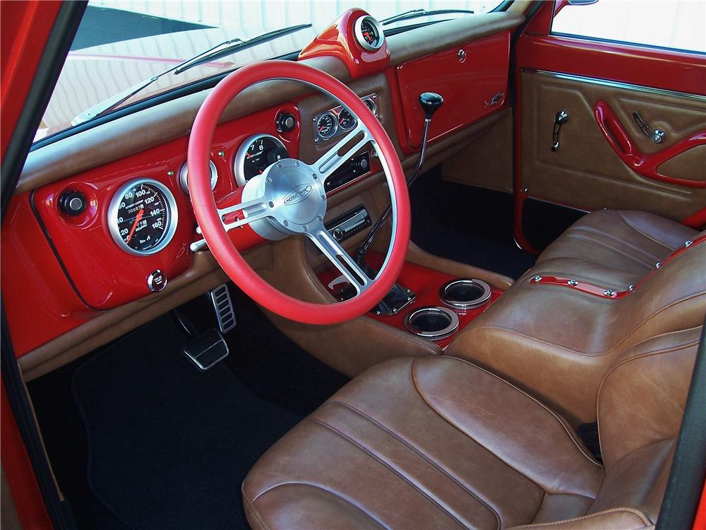 1967 CHEVROLET C-10 CUSTOM PICKUP - Interior - 177394