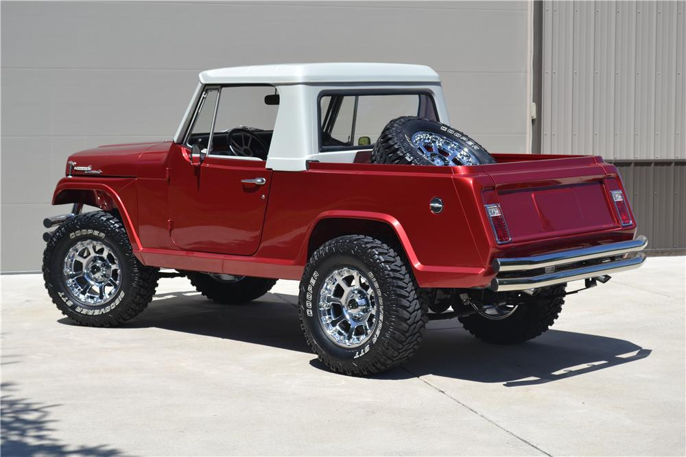 1969 jeep commando custom pickup 177400. Cars Review. Best American Auto & Cars Review