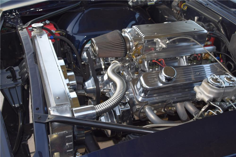 1967 CHEVROLET CAMARO RS CUSTOM CONVERTIBLE - Engine - 177406