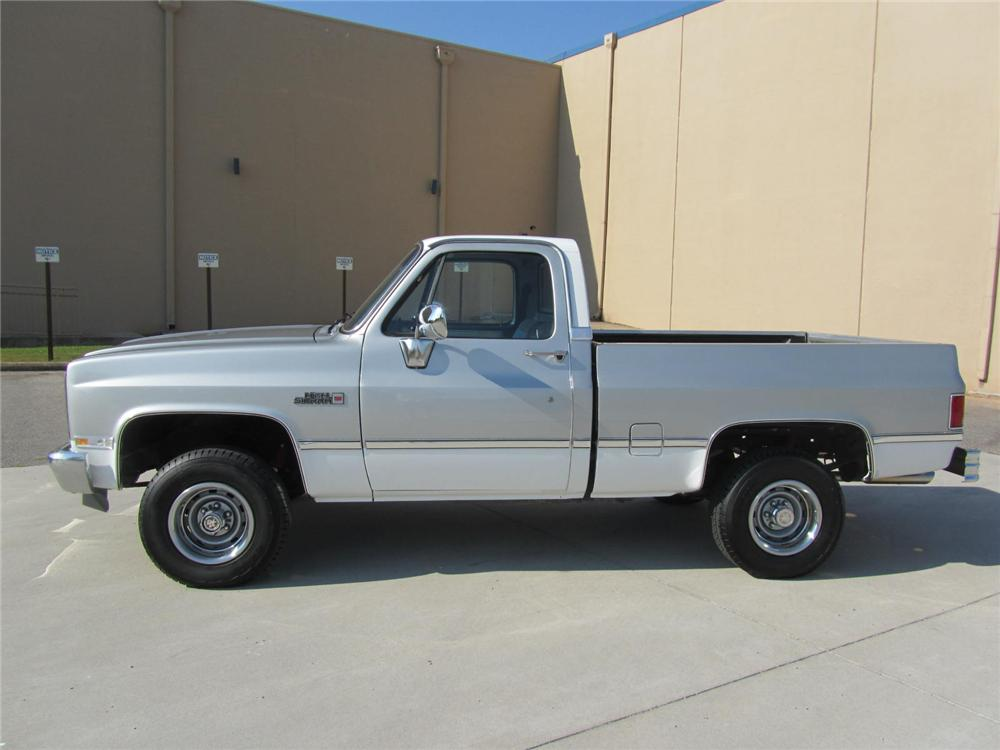 1984 GMC SIERRA 1500 CUSTOM 4X4 PICKUP - 177419