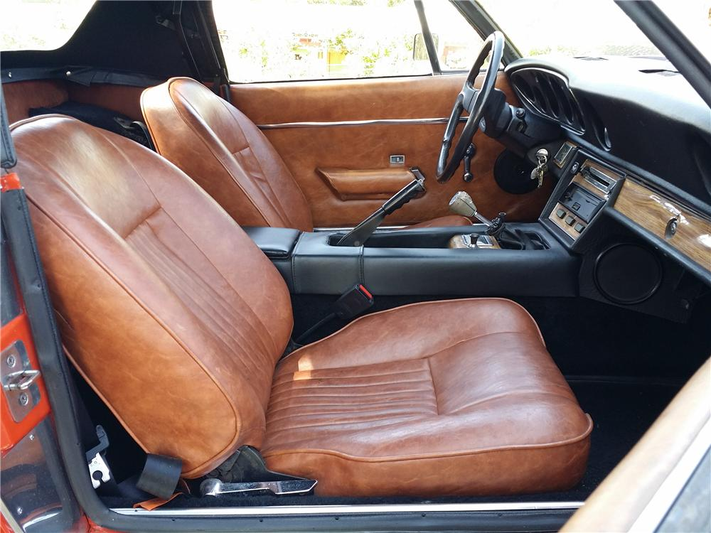 1974 JENSEN HEALEY CONVERTIBLE - Interior - 177423