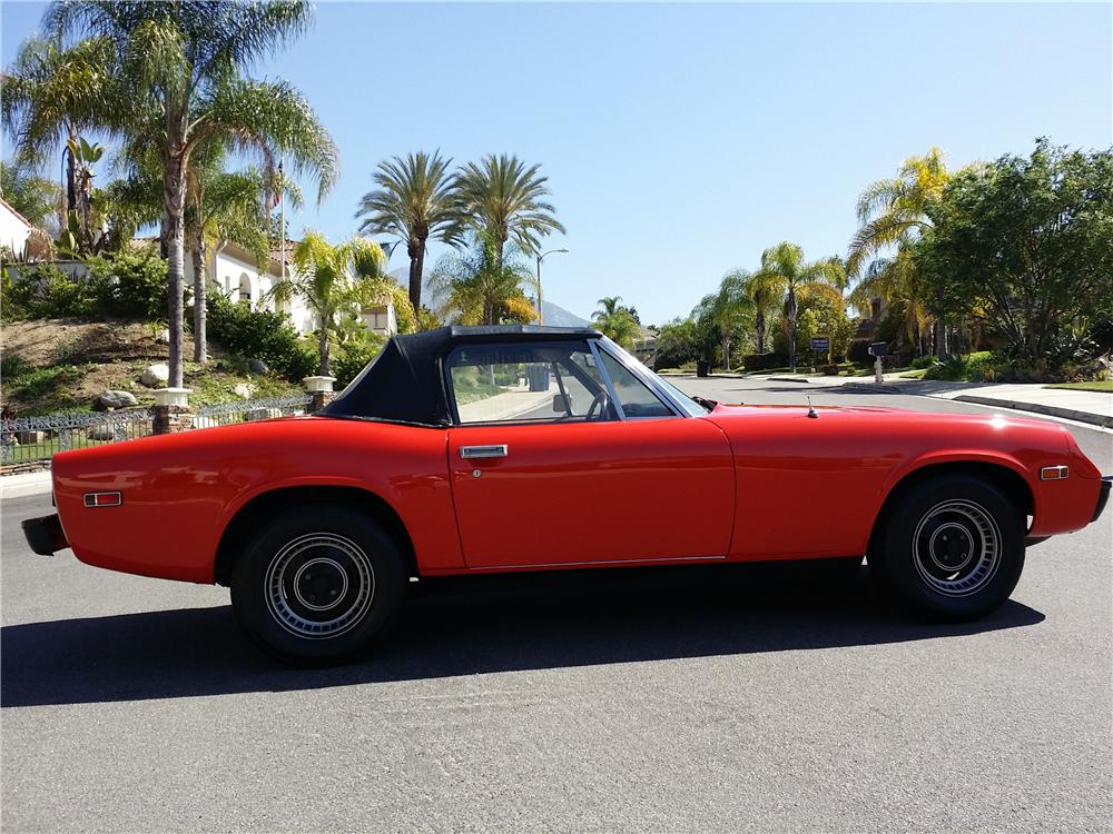 1974 JENSEN HEALEY CONVERTIBLE - Side Profile - 177423