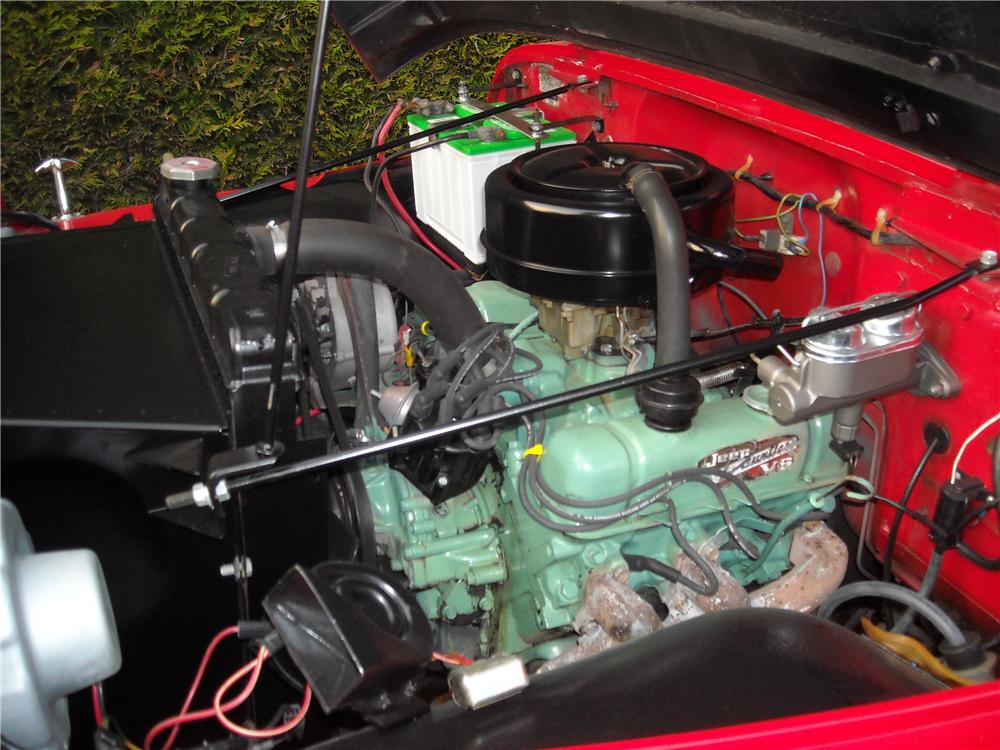 1968 JEEP JEEPSTER CONVERTIBLE - Engine - 177424