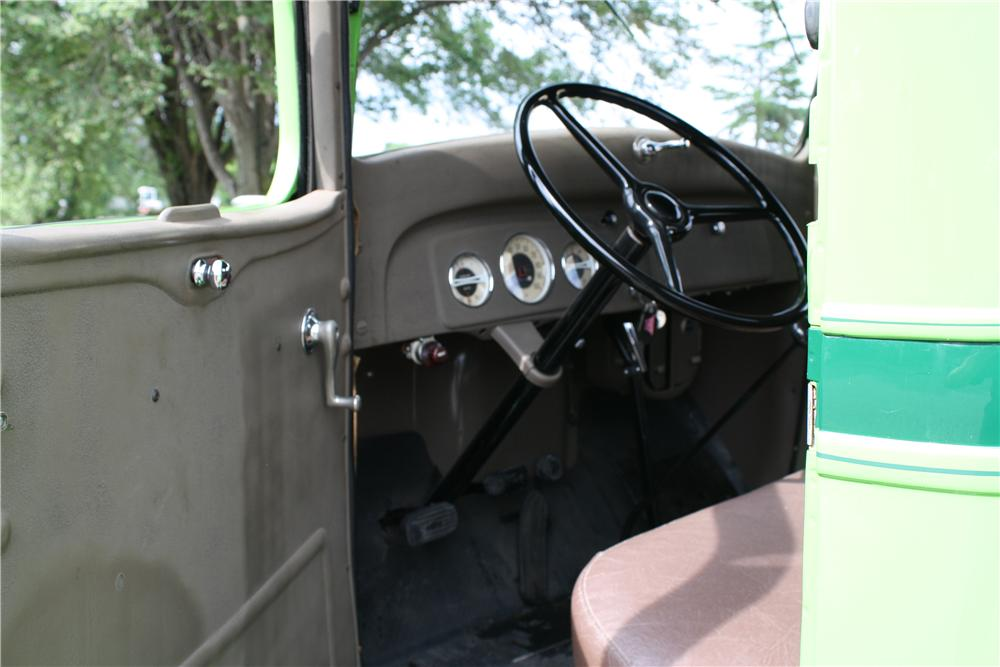 1937 CHEVROLET GC PICKUP - Interior - 177426