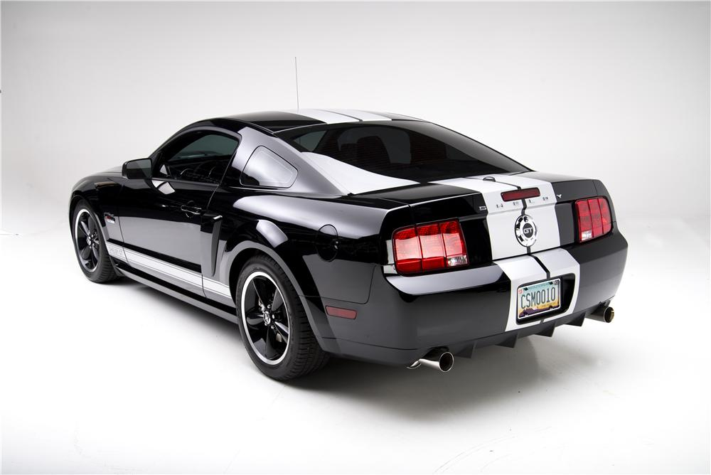 2007 FORD SHELBY GT 2 DOOR COUPE - Rear 3/4 - 177427
