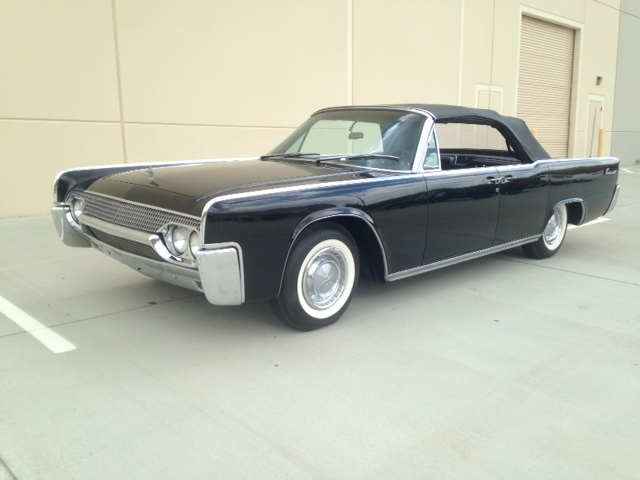 1961 lincoln continental 4 door convertible 177428. Black Bedroom Furniture Sets. Home Design Ideas