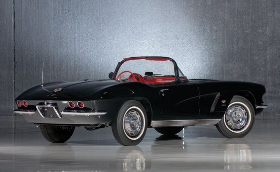 1962 CHEVROLET CORVETTE CONVERTIBLE - Rear 3/4 - 177432