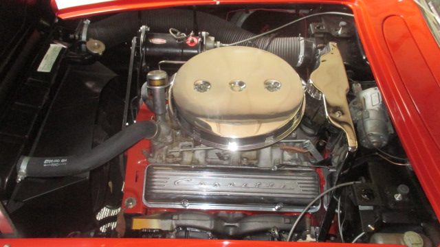1959 CHEVROLET CORVETTE CONVERTIBLE - Engine - 177450