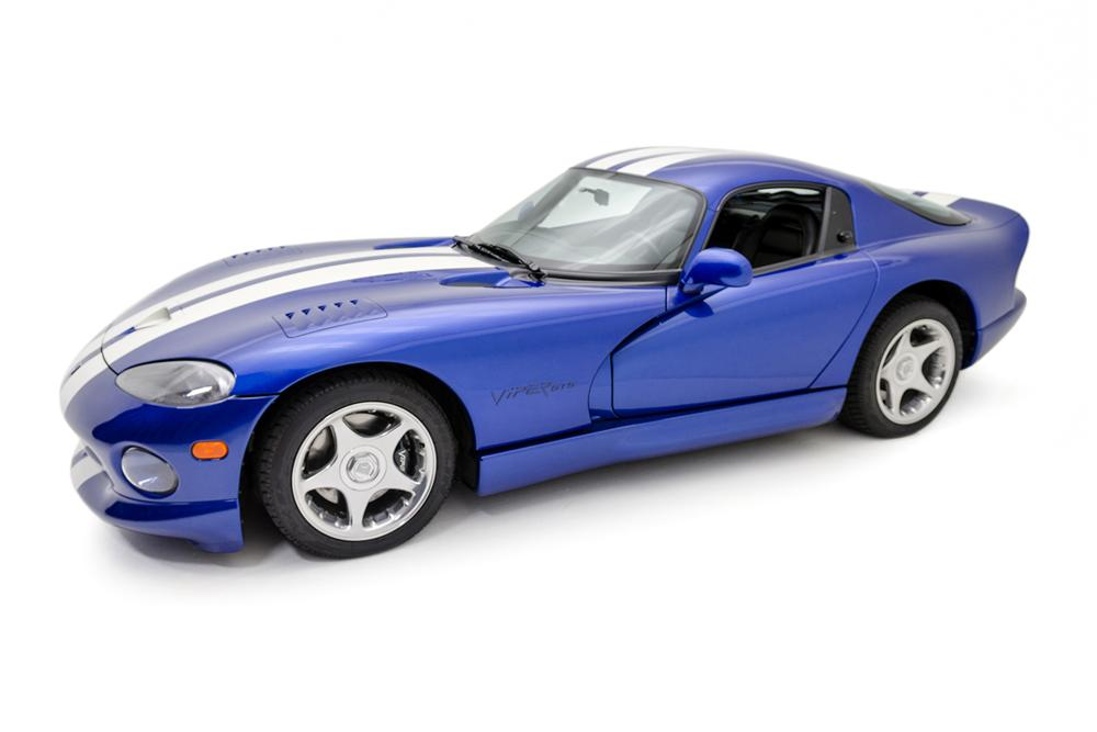 1996 DODGE VIPER GTS 2 DOOR COUPE - Side Profile - 177454