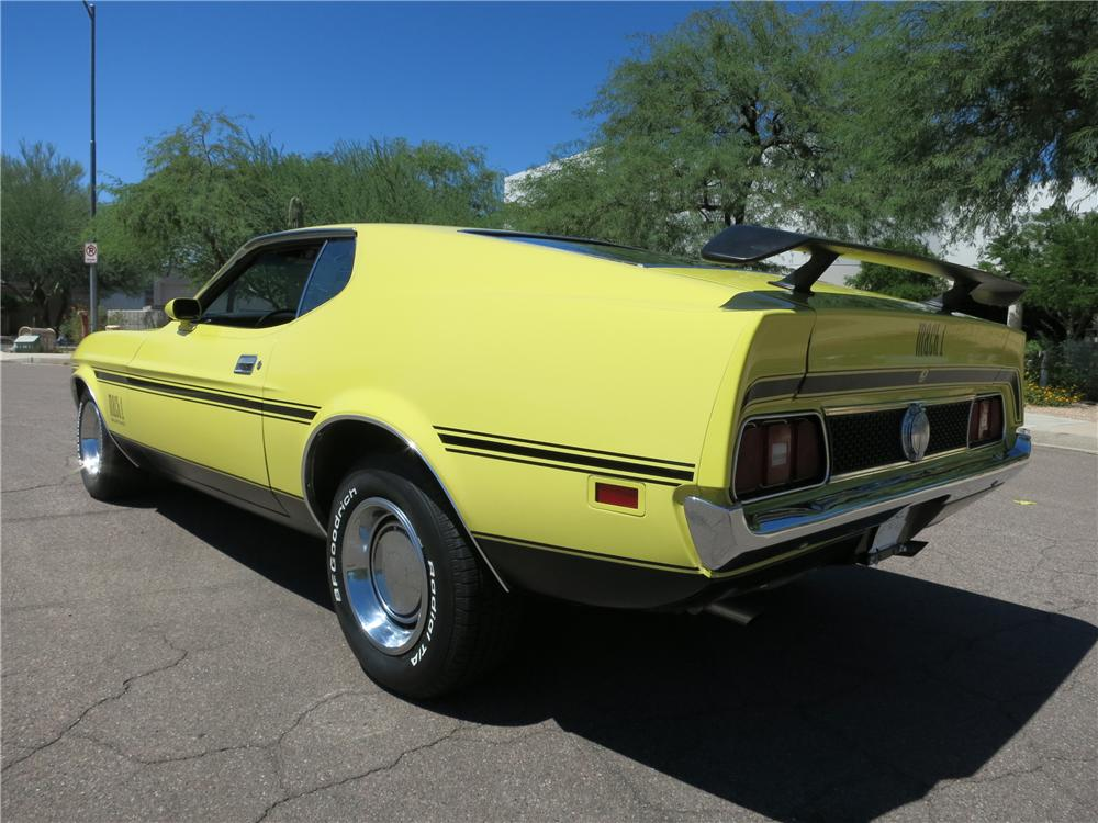 1971 FORD MUSTANG MACH 1 FASTBACK - Rear 3/4 - 177468