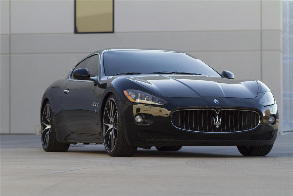 2008 maserati grand turismo 2 door coupe 177469. Black Bedroom Furniture Sets. Home Design Ideas