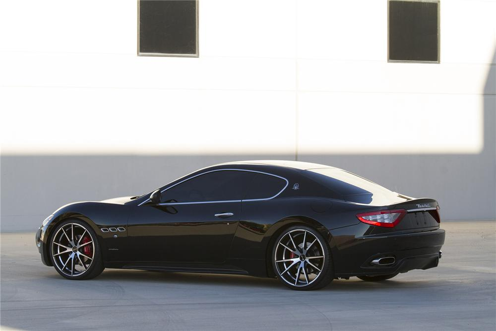 2008 MASERATI GRAND TURISMO 2 DOOR COUPE - Rear 3/4 - 177469