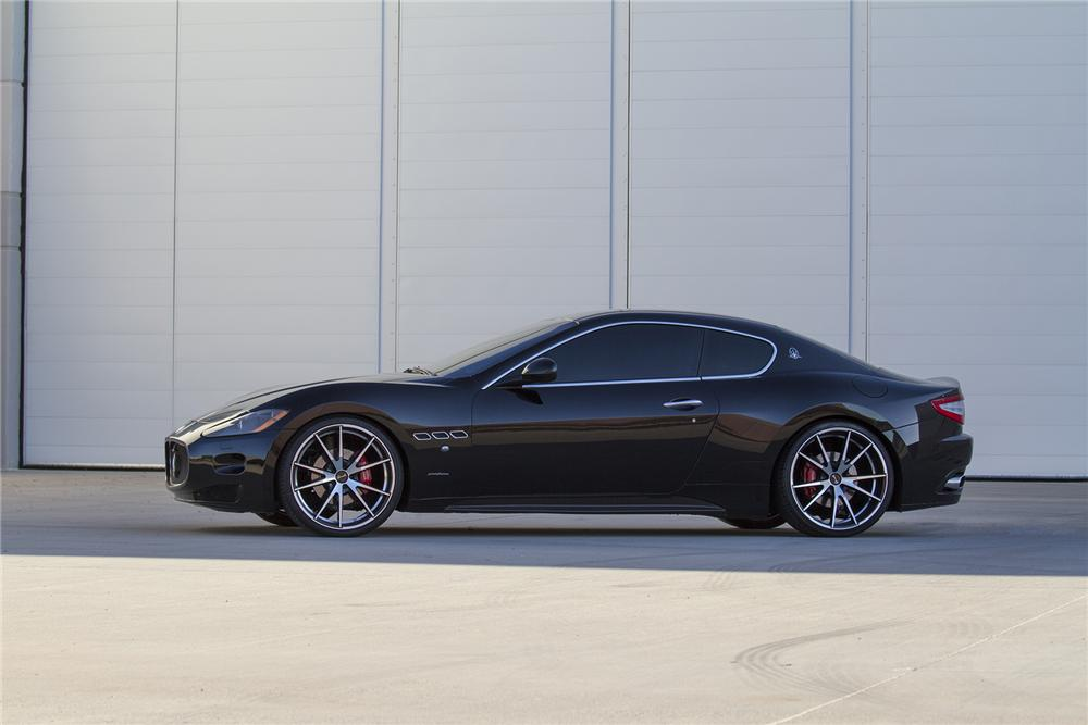 2008 MASERATI GRAND TURISMO 2 DOOR COUPE - Side Profile - 177469