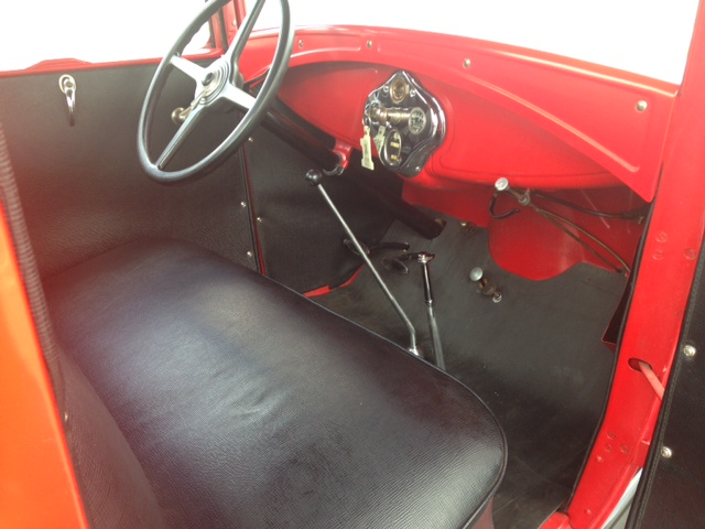 1930 FORD MODEL A PICKUP - Interior - 177471