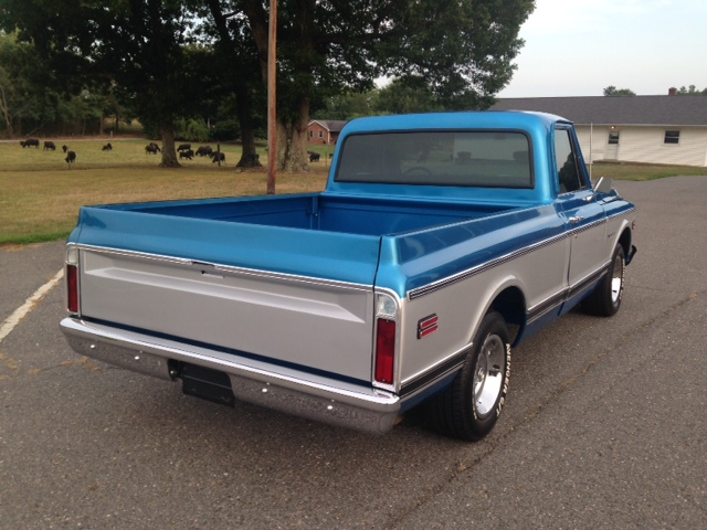 1969 CHEVROLET C-10 PICKUP - Rear 3/4 - 177472