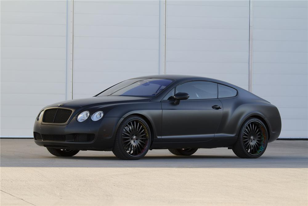 2005 Bentley Continental Gt Custom 2 Door Coupe 177473