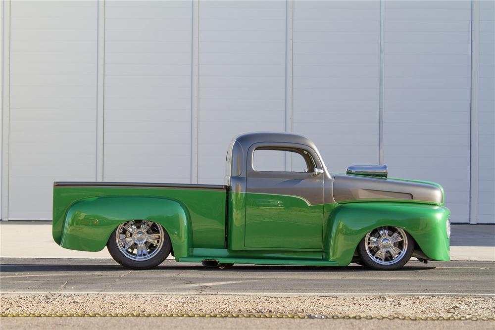1948 FORD F-1 CUSTOM PICKUP - Side Profile - 177474