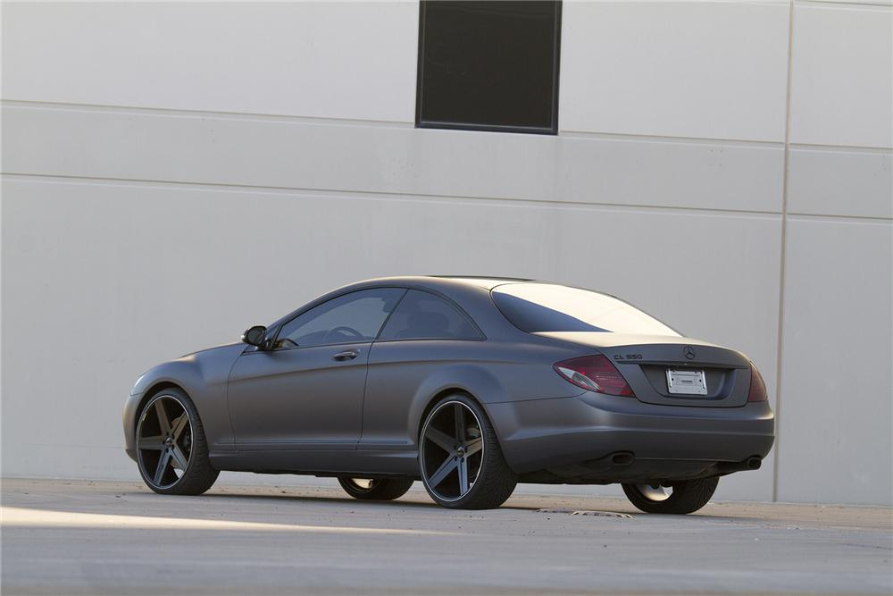 2008 MERCEDES-BENZ CL550 CUSTOM 2 DOOR COUPE - Rear 3/4 - 177476