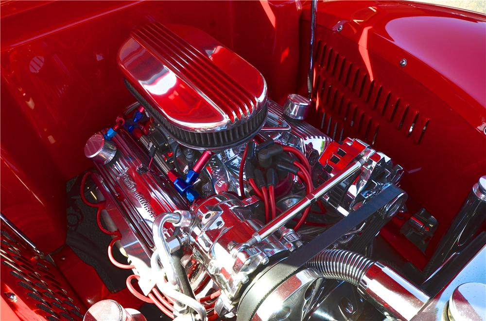 1939 FORD CUSTOM 2 DOOR COUPE - Engine - 177478