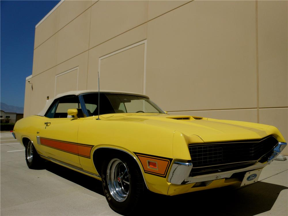 Ford Torino Gt Convertible Front