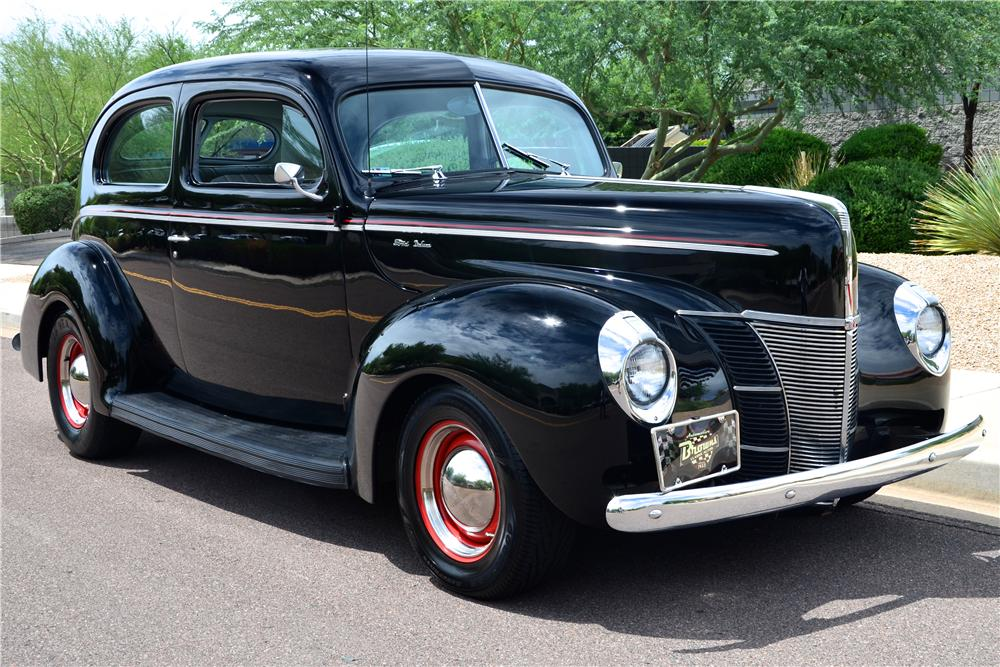 1940 ford deluxe custom 2 door sedan 177487