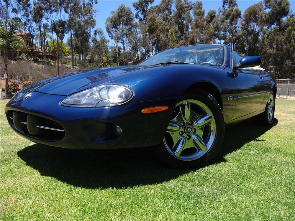 1999 jaguar xk8 convertible 177490. Black Bedroom Furniture Sets. Home Design Ideas