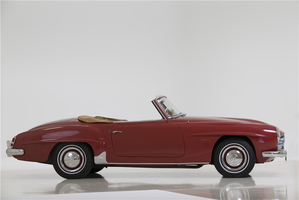 1959 MERCEDES-BENZ 190SL CONVERTIBLE - Side Profile - 177502