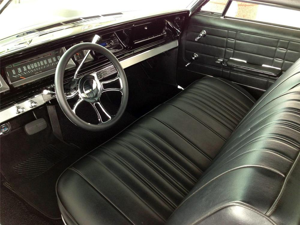 1966 CHEVROLET IMPALA 2 DOOR HARDTOP - Interior - 177503