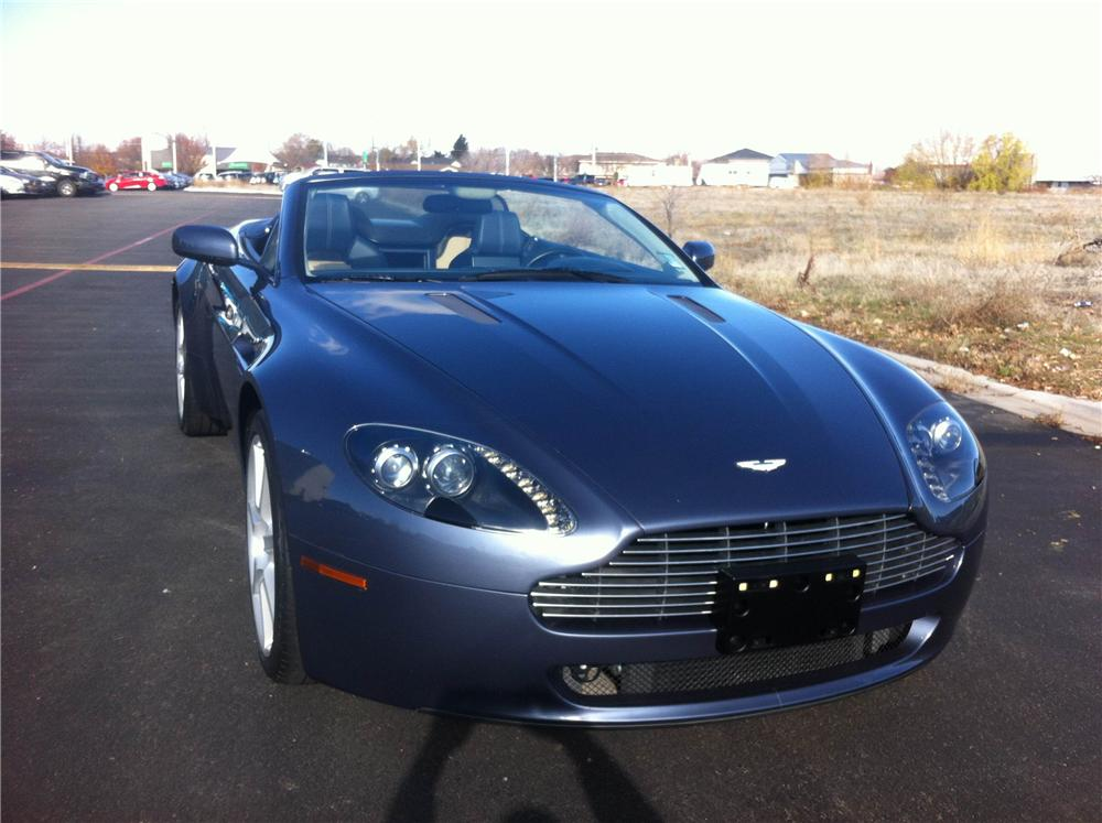 2008 aston martin vantage convertible 177510. Black Bedroom Furniture Sets. Home Design Ideas