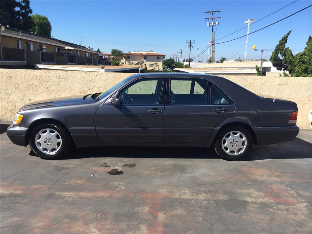 1996 MERCEDES-BENZ S500 4 DOOR SEDAN - Side Profile - 177516