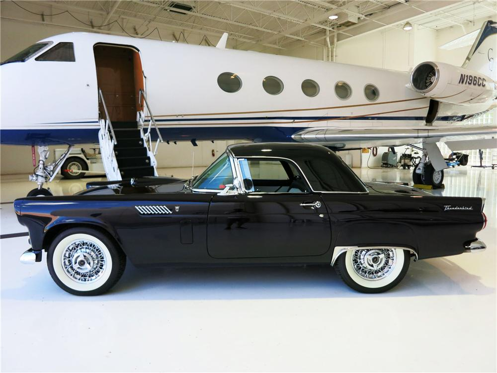 1956 FORD THUNDERBIRD CONVERTIBLE - Side Profile - 177518