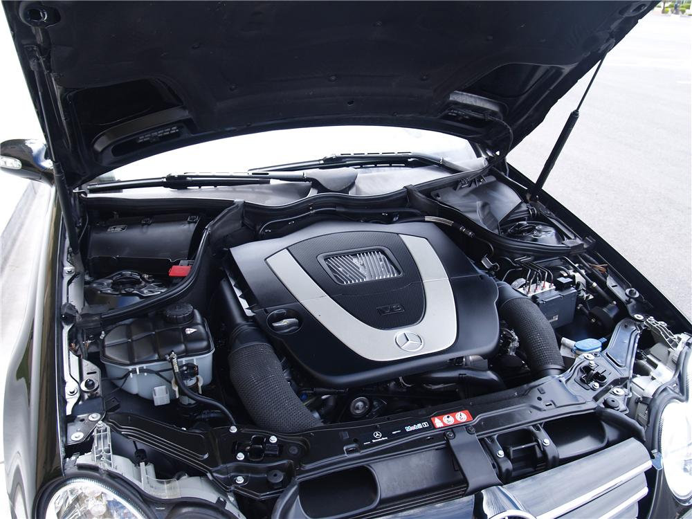 Image gallery 2008 clk 350 engine for Mercedes benz oil change cost