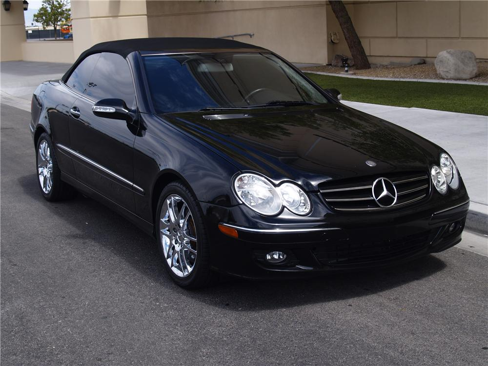 2008 mercedes benz clk350 convertible 177520