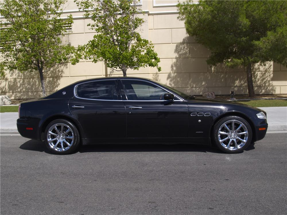 2007 maserati quattroporte 4 door sedan 177521. Black Bedroom Furniture Sets. Home Design Ideas