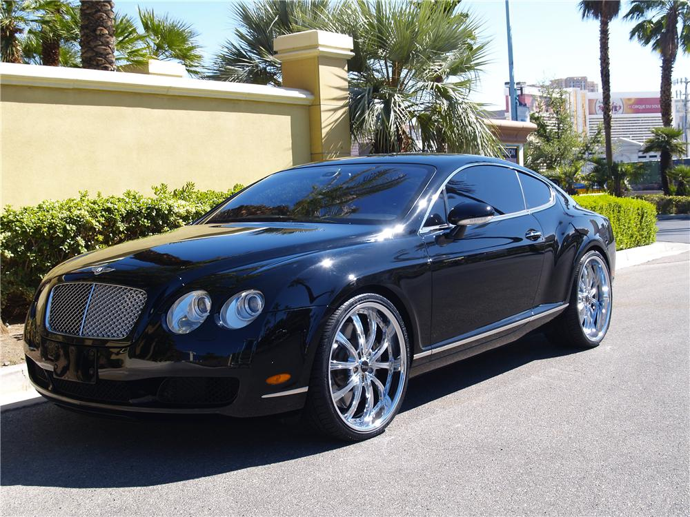 2005 bentley continental gt 2 door coupe 177522. Black Bedroom Furniture Sets. Home Design Ideas